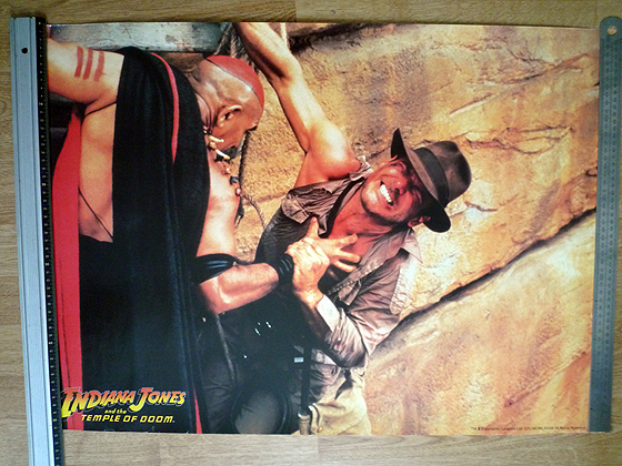 poster TO Indiana Jones & Mola Ram