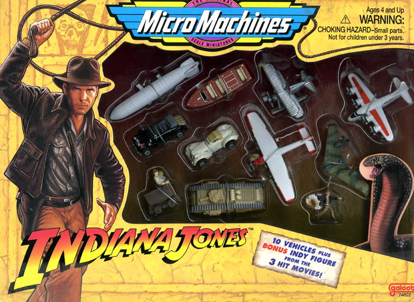 Machines Jones Collection Indiana Les Miniatures Micro EDWH29I